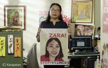 「フィリピン政府から標的」のカラパタンが米国の人権賞を受賞