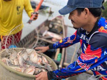 マニラ湾リハビリテーションプロジェクト 生活手段喪失の危機に直面する漁民